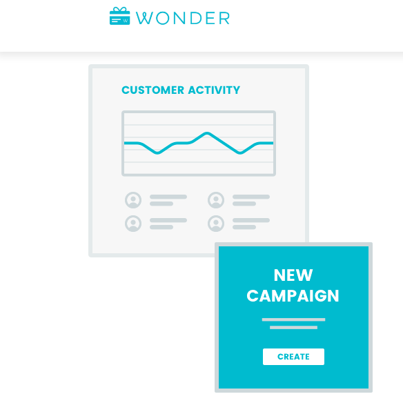 Wonder app, digital incentives and lead generation engagement.